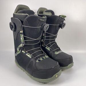 Burton Concord BOA Snowboard Boots Mens Size 9