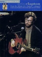 Eric Clapton: Unplugged Guitar Signature Licks. Partitions, CD pour Tablature G