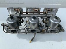 1960'S JAGUAR XKE 3.8 E-TYPE INTAKE TRIPLE SU CARBURETORS HD8