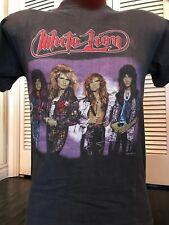 VTG 87 White Lion Roar Tour Shirt Sz S Ratt Rock Halen Metal Dokken Crue Kix Dio