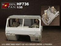 Hobby Fan 1/35 HF-736 US Army M983 HEMTT OIF ACU Driver Crew - 2 Figures