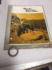 Woods Rotary Cutters Operators Manual