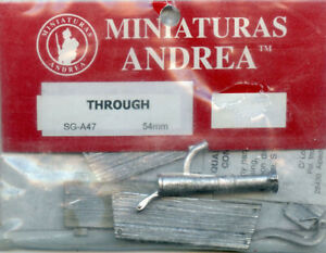 Andrea Miniatures 54mm 1:32 Water Through  Metal Detail Set #SG-A47