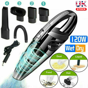 Small Hoover Handheld Vacuum Cleaner Cordless Car Vac Rechargeable Hover New