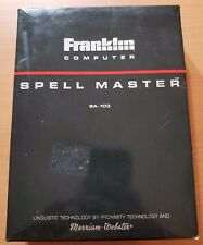 Franklin Spell Master Sa-103 w/ box manual missing battery cover Tested