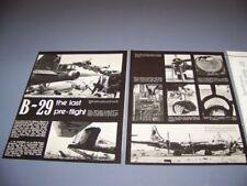 "VINTAGE..B-29 ""CHINA LAKE"" & D.H.84 DRAGON..HISTORY/PHOTOS/DETAILS..RARE! (438N)"