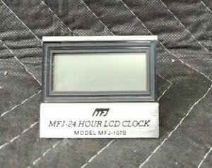 MFJ-24 Hour LCD Clock MFJ -107B
