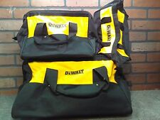 Dewalt Contractor HD Tool Bags Nested X3-***NEW***