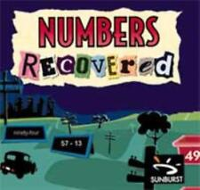 Numbers Recovered PC MAC CD Sunburst math skills-building graph activities game