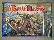 V.Rare BATTLE MASTERS Original Promo Poster Citadel Warhammer Fantasy Battle VGC