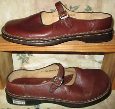BORN HAND CRAFTED Dark Brown Shoes Women's size 7M Mary Jane Style