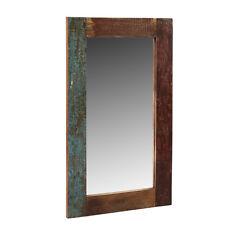 Rustic Design Rectangular Mirror Frame Reclaimed Timber Collection CS25