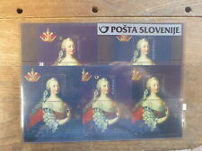 SLOVENIA 2017 JOINT ISSUE MARIA THERESA SET 5 MINI SHEETS MINT STAMPS