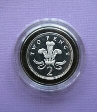 More details for 2006 .925 silver proof 2p two pence coin free p&p