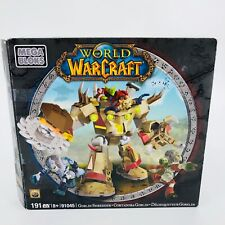 World of Warcraft Goblin Shredder Building toy kit Mega Bloks #91045 191 pcs