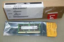 Lenovo 03X7015 MT16KTF2G64HZ-1G6A1 DDR3 1600MHz PC3L 12800S 16GB RAM NEU&OVP