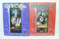 Lot 2 livres OS & CULTES + FAIT DES RALES Livre RPG Zomb 2 & 4 JUDA PROD 2000
