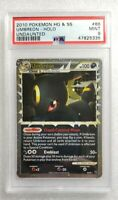 Pokemon Undaunted 2010 Umbreon 86/90 Ultra Rare Holo PSA 9 🔥 Mint 🔥