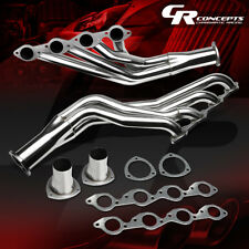 FOR CHEVY 396/402/427/454 STAINLESS BIG BLOCK EXHAUST MANIFOLD LONG TUBE HEADER