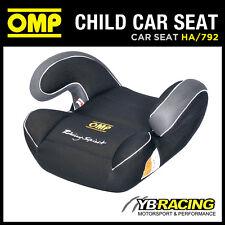 ! oferta! HA/792 OMP racing Niño Auto Asiento Grupo Negro 2 y 3 (15 a 36KGS)