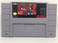 Mario vs. Bowser and Mighty No. 9 SNES Hack of Super Mario World, USA Seller
