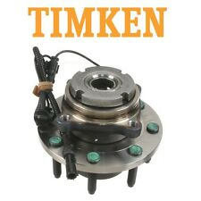 ford Excursion F-250 F-350 4WD Front Wheel Bearing & Hub Assy Timken