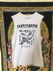 Dopethrone Vintage T Shirt Bongzilla Weedeater Eyehategod Doom Metal