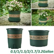 Flower Pot Garden Supplies Nordic Green Root Plastic Flower Pot Rose 3.2Gallon