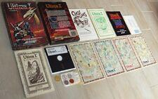 ULTIMA I 1 ~ Commodore 64 C64 DISK / OVP ~ BIG boxed ~ MÜNZEN / COINS ~ english