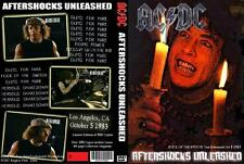 AC/DC rare Rehearsal DVD Aftershocks Unleashed 1983