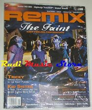REMIX Magazine SEALED Set 2008 The Faint Tricky Kid Sister Daedelus Michna NO cd