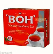 BOH Plantation Cameron Highland BOH String and Tag 100's Tea Bag