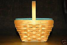 Longaberger Small Comforts Basket Combo (Signed 2) Mint