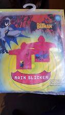 Batman Rain Slicker Coat Brand New Kids M/L
