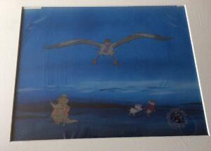 'Rescuers Down Under' Production Cel c. 1980 Disney Studio Seal