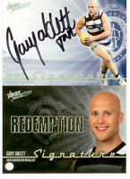 2010 Select AFL Prestige Signature Redemption S1 Gary Ablett (Brownlow,Geelong)