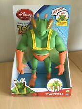 """Disney Store Toy Story 3 Twitch LARGE 12"""" Action Figure THINKWAY 2010 BRAND NEW"""