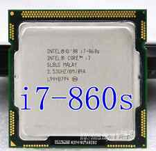 Intel Core i7 Quad Core CPU i7-860S 2.53GHZ/8MB LGA1156 SLBLG CPU