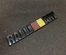 RalliArt 3D car Metal Emblem Refitting Badge Sticker Car Styling Auto Decor offr
