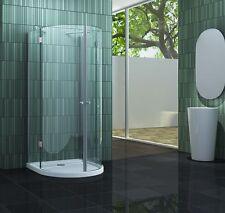 INTUBO 90 x 90 x 200 cm Glas U Duschkabine Duschtasse Dusche Duschabtrennung