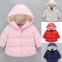 Children Kids Baby Girl Boy Winter Windproof Coat Jacket Warm Outerwear Soft HOT