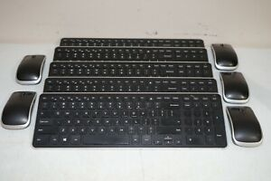 ^ Lot 5x Dell KM714 Wireless Slim Keyboard and Mouse Combo