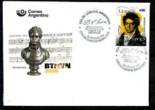 ARGENTINA 2020 MUSIC BEETHOVEN 250°ANIVERSARY FDC
