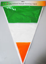 New St Patric's Day Huge 24ft Ireland 12pcs Party Decoration Triangle Buinting