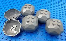 Lego Dark Grey Boulders City Town Construction Miners Castle Rocks Catapults