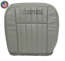 1995,1996 Chevy Impala SS 5.7L Driver Side Bottom Leatherette Seat Cover Gray