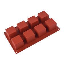 8 formes silicone décoration gâteau Moules bonbons cookies chocolat cuisson moule