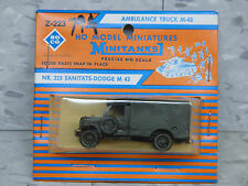 Roco Minitanks / Herpa (New) WWII US M-43 Dodge 3/4T 4x4 Ambulance  Lot 471K