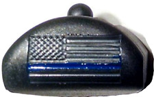 JP6 Slug Plug, US Flag w/ Thin Blue Line/Police, Fits Glock Gen 4 for 17,18,19+