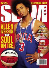 ALLEN IVERSON SLAM MAGAZINE COVER 8X10 PHOTO POSTER